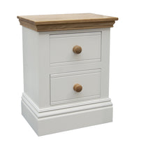 TCBC New England 2 Drawer Bedside