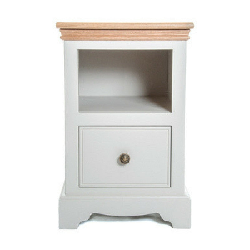 TCBC Inspiration 1 Drawer Open Shelf Bedside