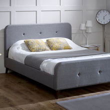 Shere Bedstead in Grey