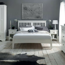 Kensington Slatted White Bedstead