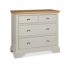 Kensington Soft Grey & Oak 2+2 Chest