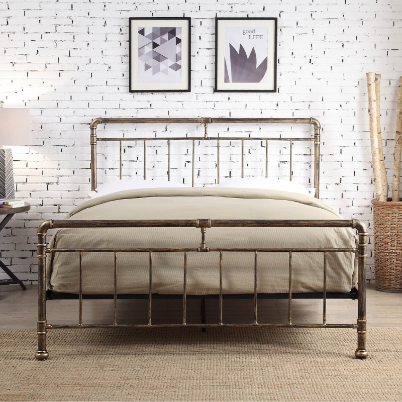 Portland Antique Bronze Bedframe The Bed Post