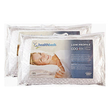 Cooltex Talalay Latex Pillow Low Profile Pillow Pairs