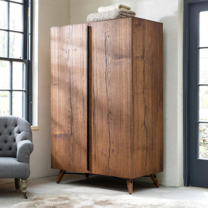 Stowe Oak Double Wardrobe