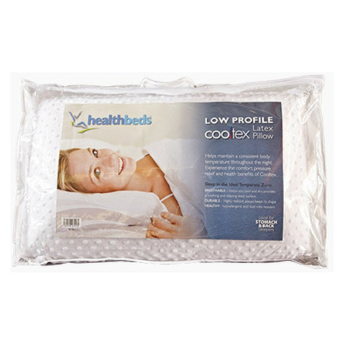 Cooltex Talalay Latex Pillow Low Profile Pillow