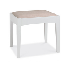Kensington White Stool
