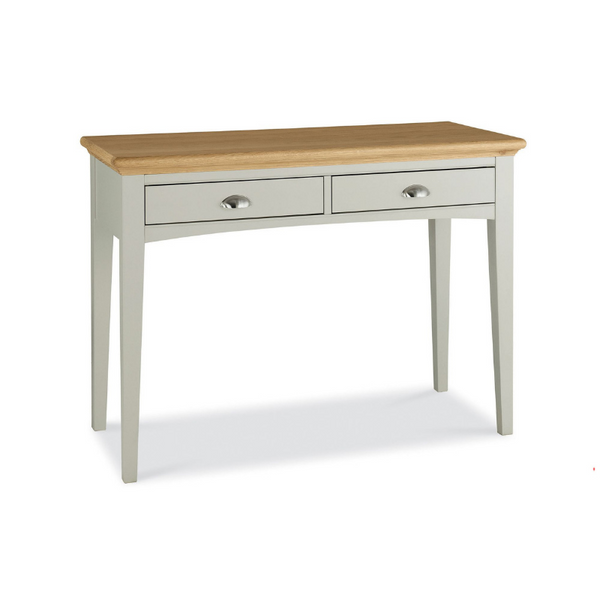 Kensington Soft Grey & Oak Dressing Table