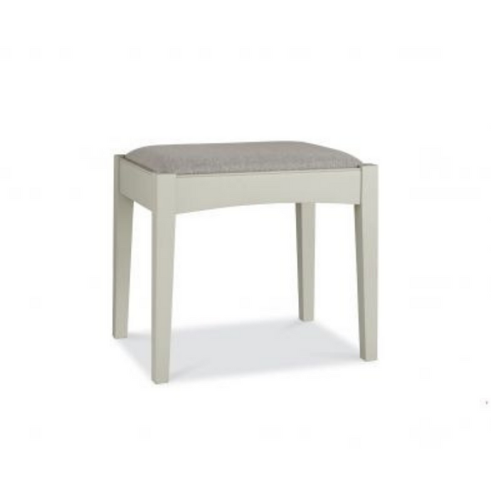 Kensington Soft Grey & Oak Stool