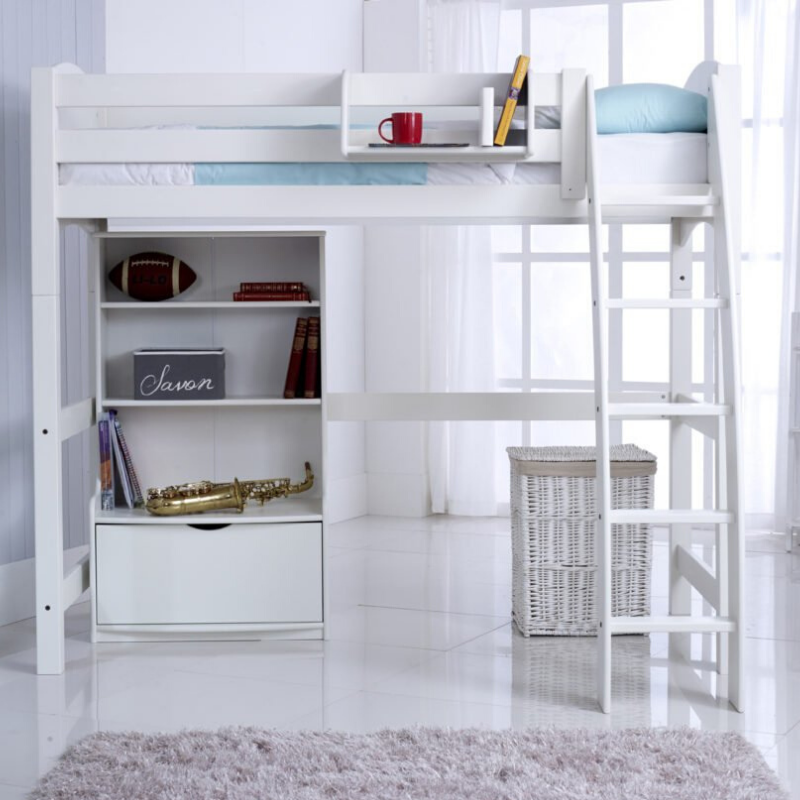 Scallywag Kids - High Sleeper package including Bookcase