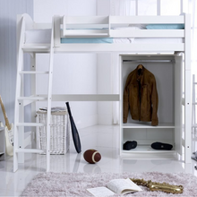 Scallywag Kids - High Sleeper package including Wardrobe