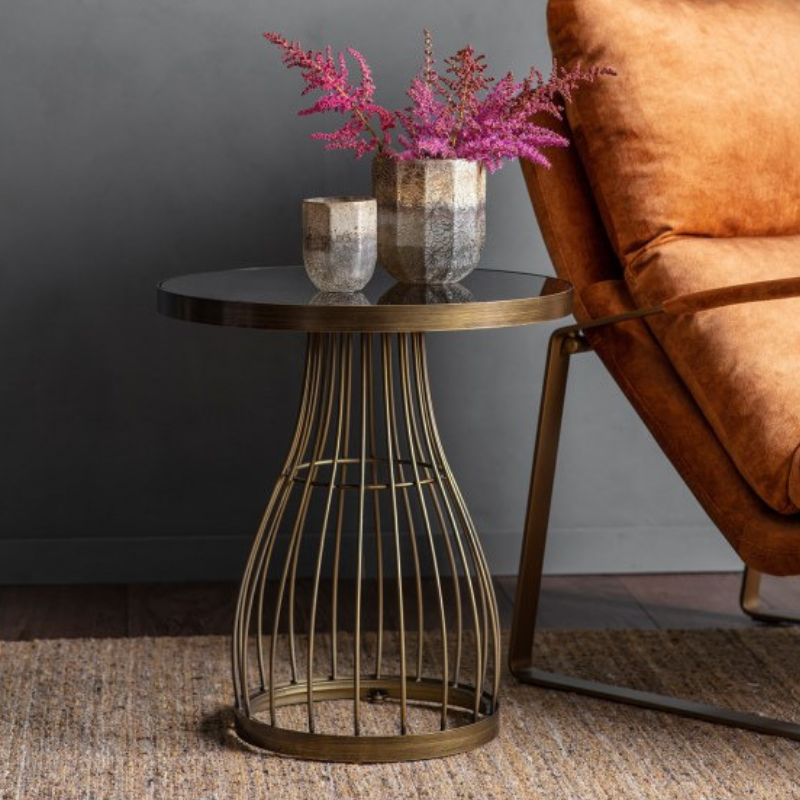 Southgate Bronze Side Table