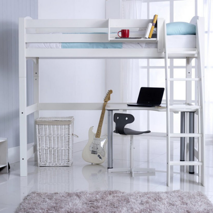 Scallywag Kids - High Sleeper package including Free Standing Desk