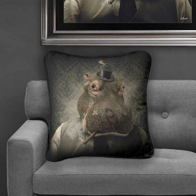 HIPPO MAFIA Cushion