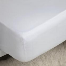200 Thread Count Egyptian Cotton Blend Fitted Sheets - Small Double