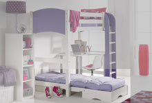 Scallywag Kids Chair Bed - Lilac