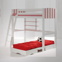 Scallywag Kids Chair Bed - Red