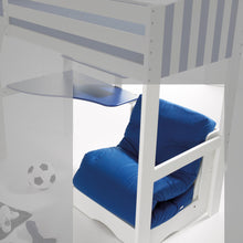 Scallywag Kids Chair Bed - Blue
