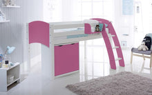 Scallywag Kids Contour Cabin Bed Including Wide Cupboard