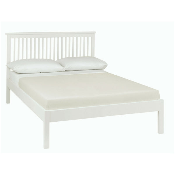 Memphis White Low Footend Bedstead