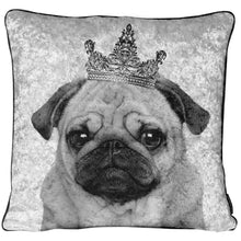 Crushed Velvet PUG Cushion