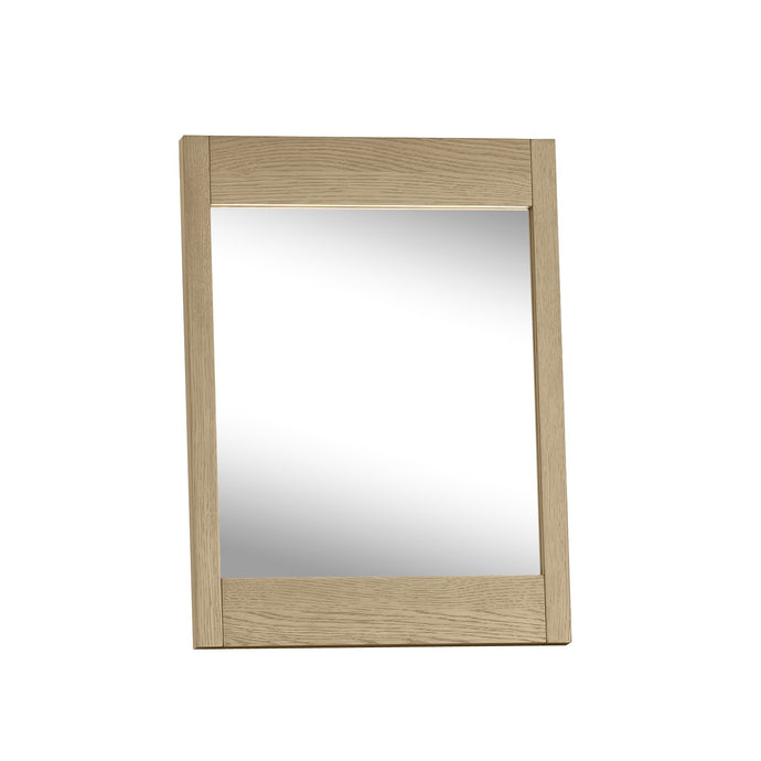 Maine Aged & Weathered Oak Dressing Vanity Mirror