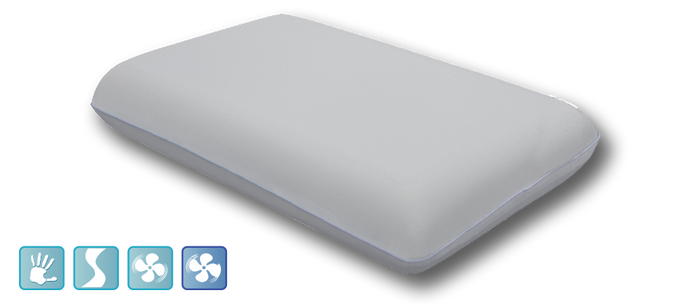Luxury Gel Memory Foam Pillow