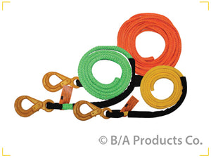 Synthetic winch line