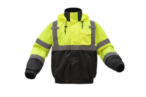CLASS 3 3-IN-1 WATERPROOF BOMBER WITH NEW REMOVABLE FLEECE