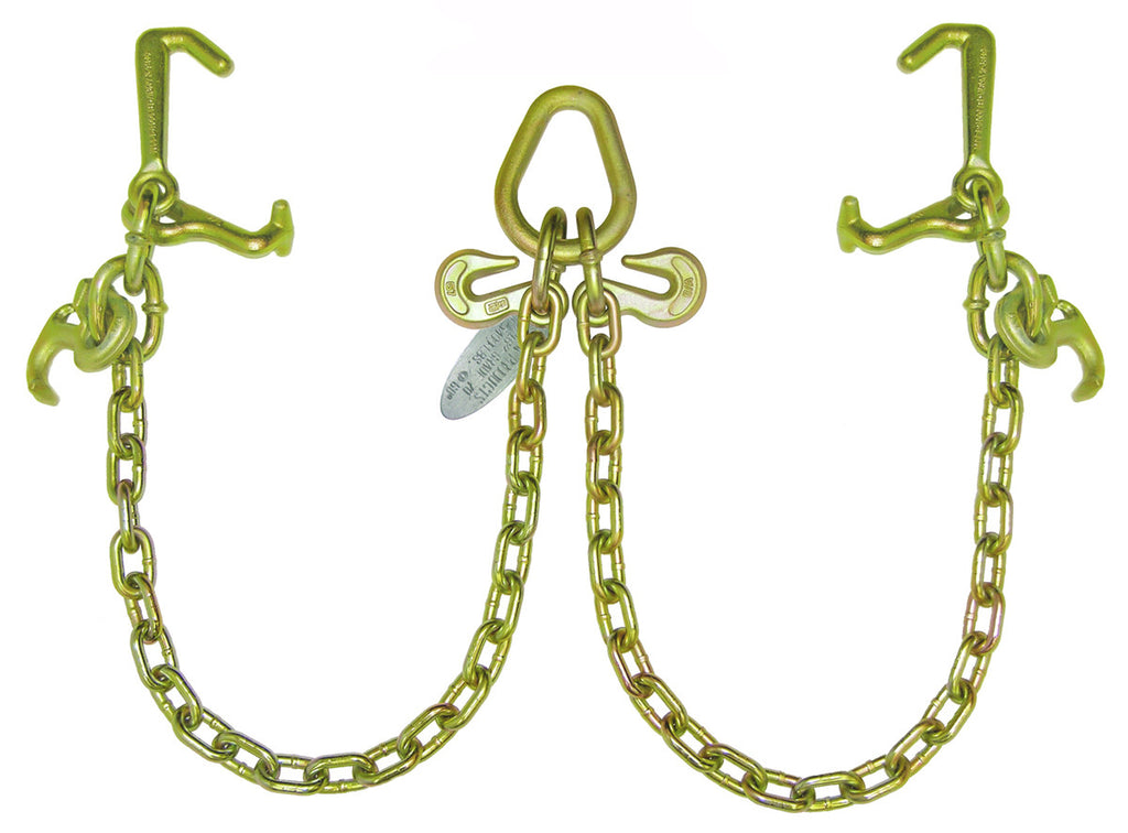 Bridle, V-Chain w/Cluster Hooks, G70 Chain