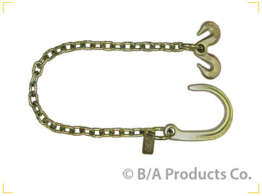 "Image of Chain, Ultimate Axle Chain; 8"" J Hook & Grab Hooks"