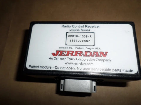 Jerr-Dan Wireless Receiver, Single Operation