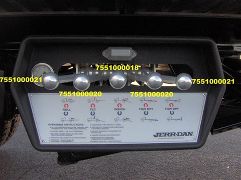 Jerr-Dan Control Handle