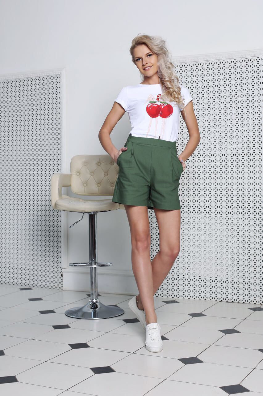 Cherry girls tee by Fashion.Love.Story