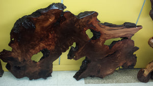 Wall Art, Live Edge Redwood Slab