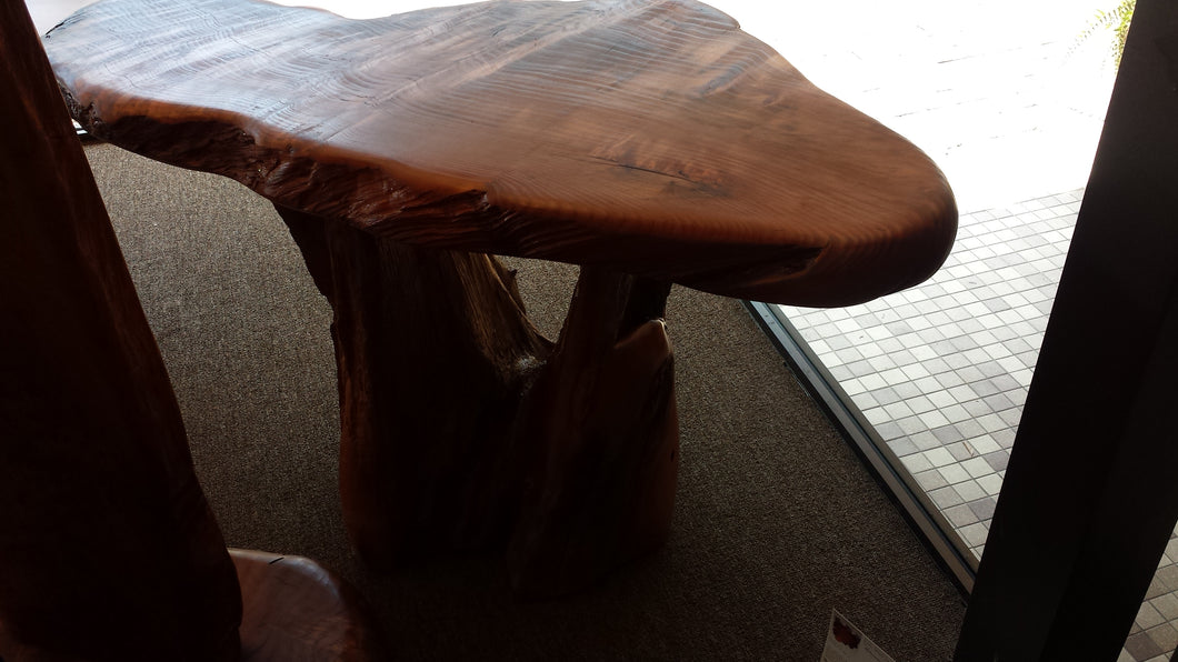 Redwood side Table