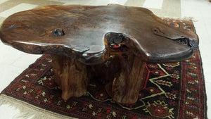 Walnut Burl Coffee Table