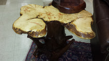 Box Elder Burl Side Table