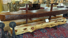 Redwood Curly Mantel