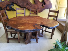 Redwood Live Edge Dining Table