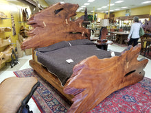 Redwood Live Edge King Bed