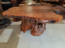 Redwood Live Edge Center Table