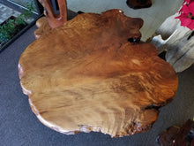 Redwood Coffee Table live edge