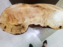 Black Gum burl side table