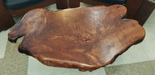 Figured Redwood Coffee Table