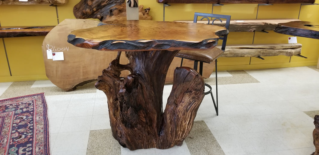 Redwood Bar Table