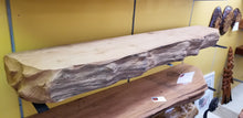 Redwood mantel