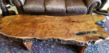 Birdseye Redwood Coffee Table