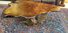 Birdseye Burl Redwood Table