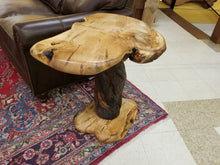Live Edge Maple side table