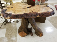 Maple Burl Side table